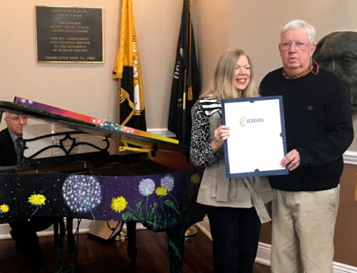 Donation of a Baby Grand Piano to HudCo Parks